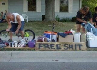 Redneck yard sale