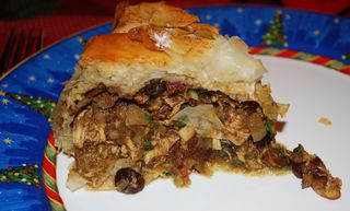 Morrocan-Style Chicken Pie (B'stilla) Recipe — Dishmaps