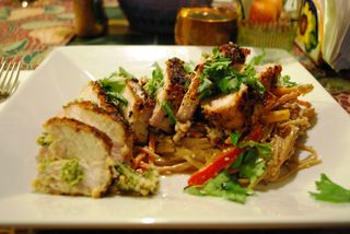 A Life, Lived: Thai-Style Peanut and Panko Crusted Pork Chops