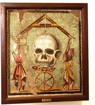 Naples skull 3