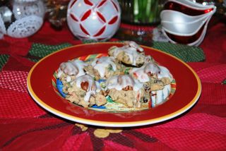 A Life Lived Fruitcake Hermit Cookies