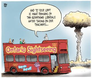 Toronto Star editorial cartoon September 12, 2012