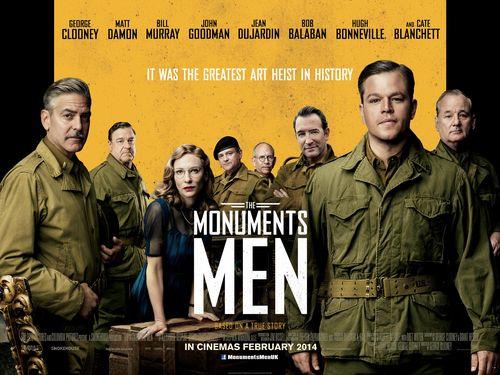 The-Monuments-Men-UK-Quad-Poster
