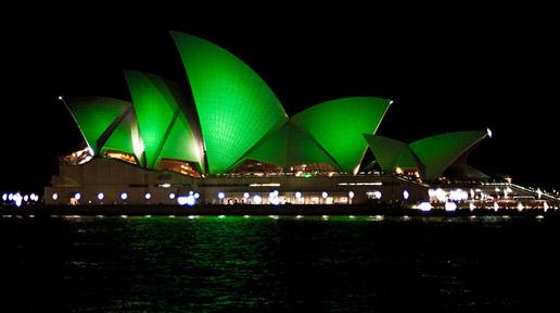 FT5S+Sydney+Opera+House+Green+St+Patricks+Day