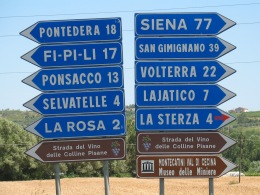 Tuscany-road-signs
