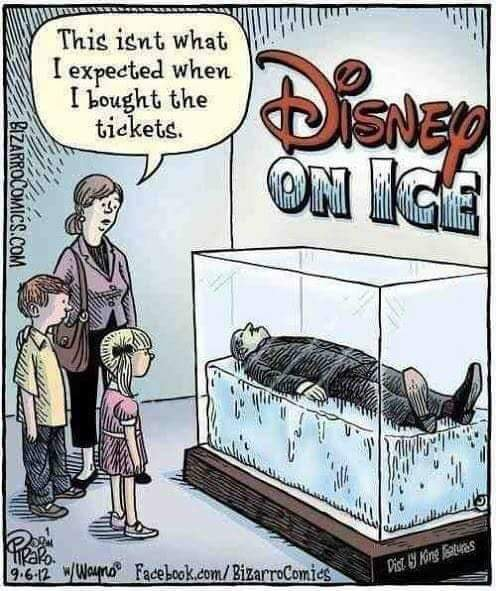 A Life, Lived: On Ice?