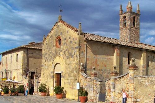 Church in Monteriggioni